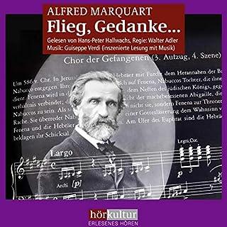 Flieg, Gedanke...     Giuseppe Verdi - Sein Leben, sein Schaffen, seine Zeit              Autor:                                                                                                                                 Alfred Marquart                               Sprecher:                                                                                                                                 Hans Peter Hallwachs                      Spieldauer: 12 Std. und 33 Min.     1 Bewertung     Gesamt 5,0