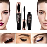 Waterproof Rimel 3d Mascara 4D Silk Fiber Lash Mascara For Eyelash Extension Black Thick Lengthening Eye Lashes Korean Cosmetics