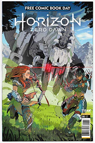FCBD Horizon Zero Dawn #0 Unstamped (Titan, 2020) NM