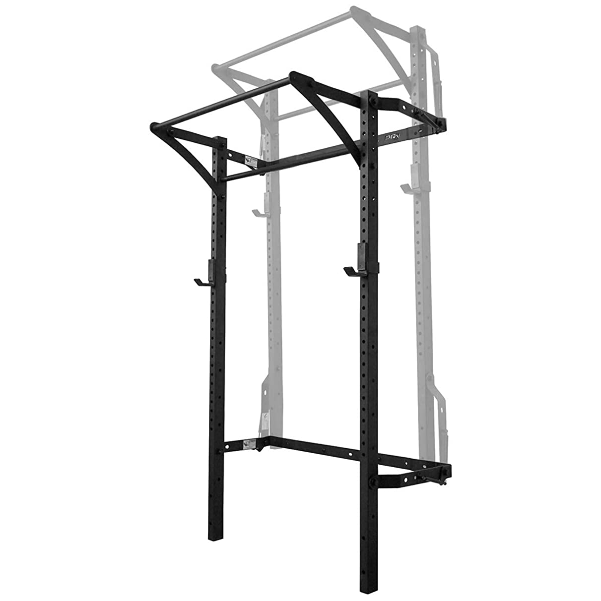 PRx Performance Murphy Rack, Wall Mounted Squat Rack, Folds Up, 90 Inch Uprights, Space Saving Home Gym Equipment