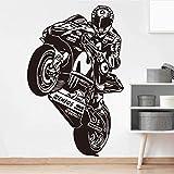 Valentino Rossi The Doctor Motor Race Tatuajes De Pared Habitación Para Niños Habitación Para Niños Vr 46 Motocicleta Carreras Deportivas Etiqueta De La Pared Sala De Estar 70X45Cm