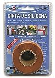 TARGET CSNA325 - Cinta de Silicona - Selladora - Naranja 3 Metros x 25 Milímetros - Autovulcanizable - Fugas -Tuberías - Automoción - Mangueras - Cableado