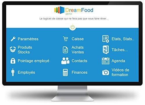 DreamFood 2019 (New) - Logiciel de caisse restaurant, restauration rapide