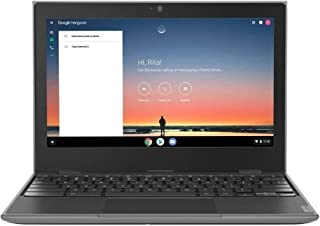 "2020 Lenovo 100e 2nd Gen 11.6"" Anti-Glare HD Business, Student Chromebook Laptop, Quad-Core MT8173C CPU, 4GB RAM, 32GB eMM..."