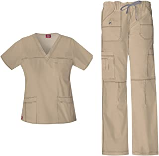 blue jean scrubs