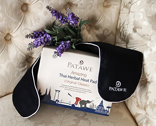 Patawe Luxury Thai Herbal Heat Pad Hot & Cold Compress Relaxation Pain Relief Neck Back Shoulder 1000g