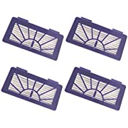 I clean 4 Pack Replacement for Neato Filter XV-21 XV Signature, XV Signature Pro XV-11 XV-12, XV-15 Neato Robotic Filter Part#945-0048, Bonus A Free Cleaning Brush