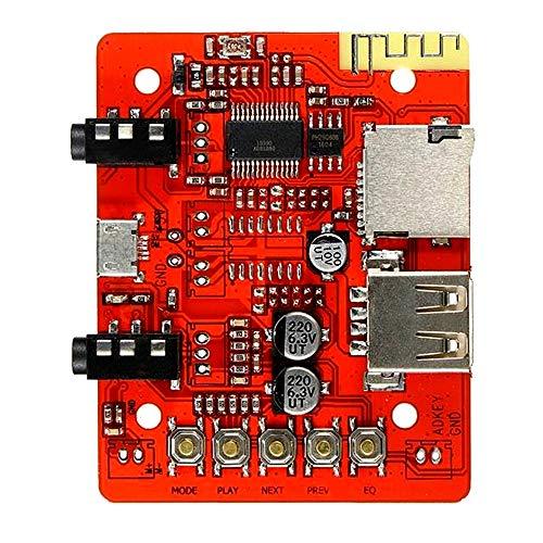 Kuhe Stereo Audio Versterker Module Draadloze Bluetooth Ontvanger USB Power Ondersteuning TF AUX Power Module