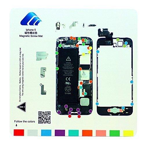Satkit Magnetisch whiteboard voor iPhone 5 schroeven