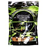 Target Bolas de Airsoft biodegradables Brown de 0.23 Gramos (4350 gránulos), Paquete de 1 kilogramo