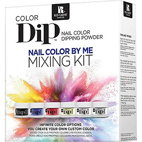 RC Red Carpet Manicure Color Dip Nail Color By Me Mixing Kit