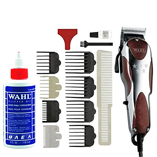 Price comparison product image Wahl Professional 5-Star Magic Clip 8451 Great for Barbers and Stylists Precision Fade Clipper with Zero Overlap Adjustable Blades,  Variable Taper & Texture Settings (with Clipper Oil)