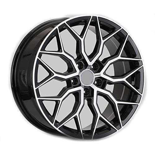 GYZD Alu Felgen 17 Zoll Durchfluss geschmiedete Radlegierung Ersatzrad Auto Rad Maschine Aluminium Felge Passend für R17 *8J Reifen Geeignet für a4l a6l a3 a4 a7 a5 q7 1 Stück,I