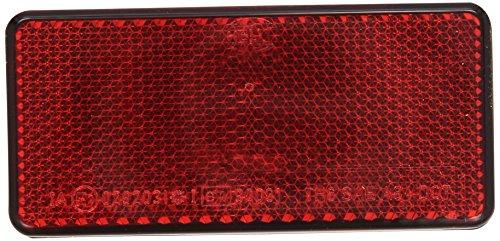 HELLA 8RA 003 326-031 Rückstrahler - rot - geklebt
