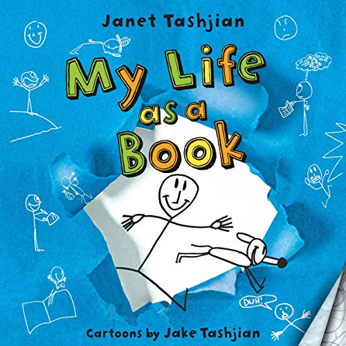 My Life as a Book Audiobook By Janet Tashjian, Jake Tashjian - illustrator cover art
