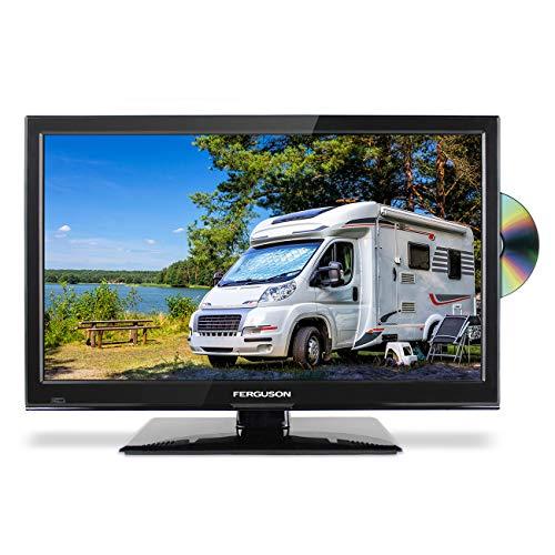 FERGUSON 22 INCH 12v TRAVELLER TV DVD FREEVIEW HD SATELLITE TUNER 1080P HDMI x 2 USB - BRITISH MANUFACTURER - F22230F TRAVELLER