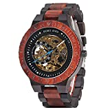 Mens Wooden Watches Luxury Mechanical Watch Lightweight Wood Male Timepieces for Men