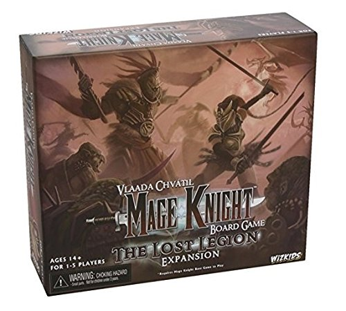 NECA Mage Knight Lost Legion Expansion Board Game