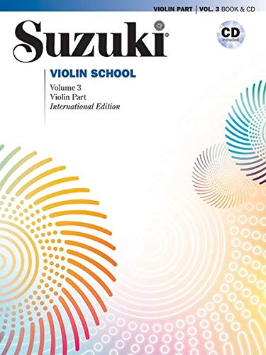 Suzuki Violin School, Volume 3: International Edition