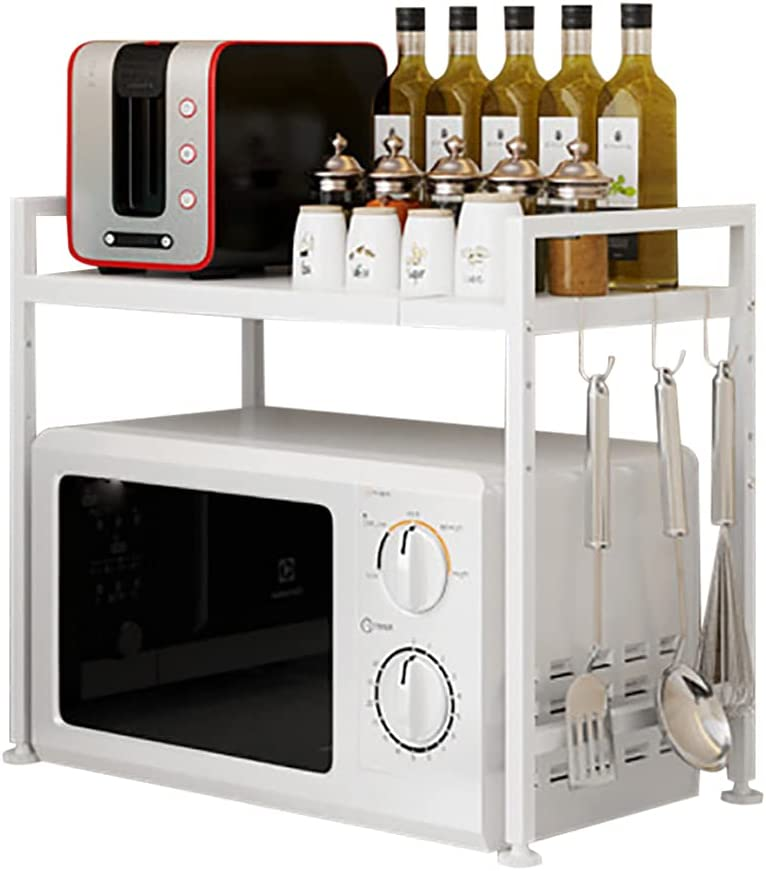 NEW before selling TBVECHI Microwave Oven Rack Selling rankings 2 Tier St Stainless Steel