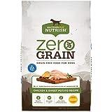 Rachael Ray Nutrish Zero Grain Natural Dry Dog Food, Chicken & Sweet Potato Recipe, 28 Pounds, Grain Free