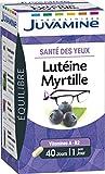 Juvamine SANTE DES YEUX - LUTEINE MYRTILLE, 40 gélules