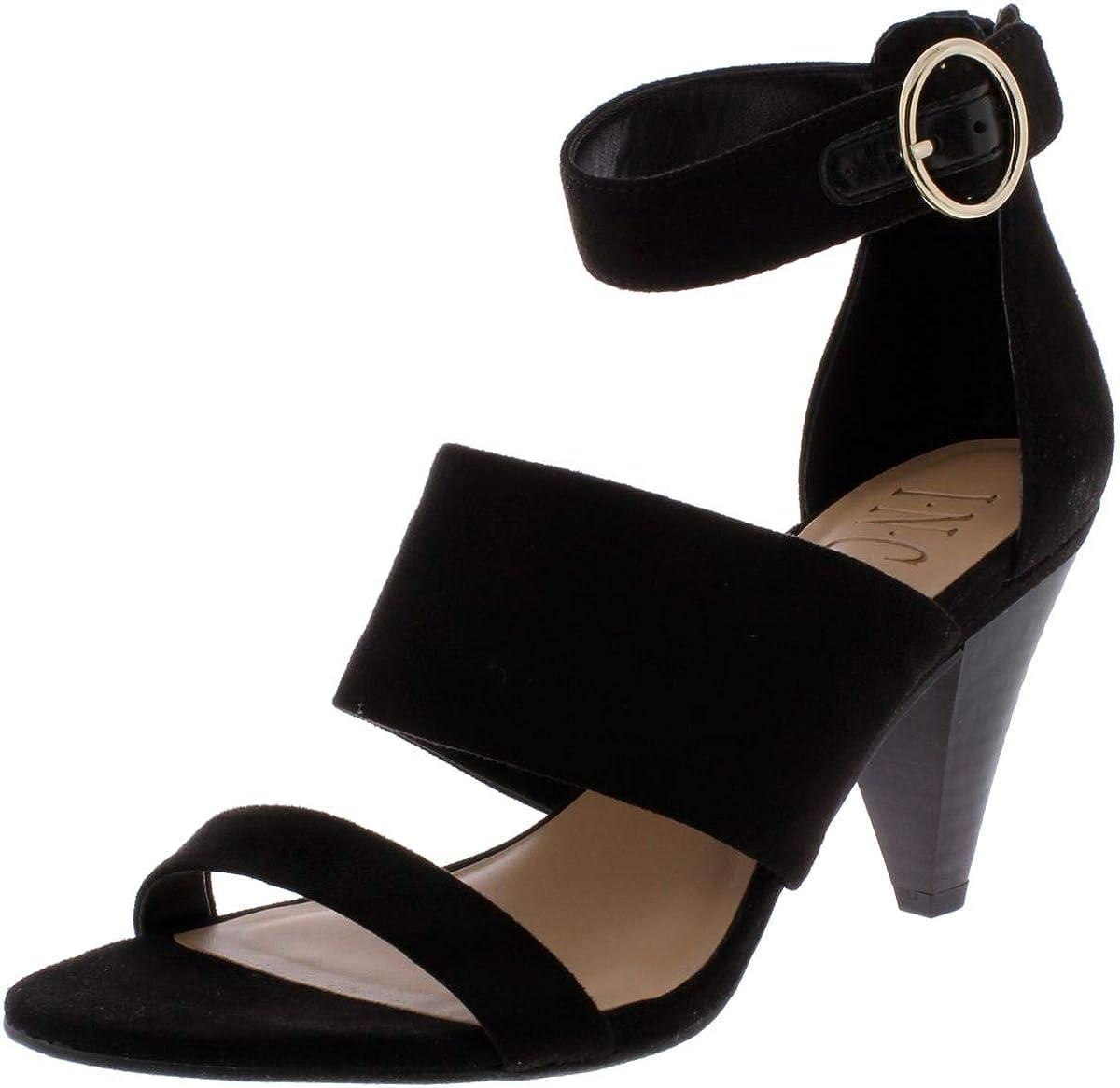 INC International Concepts Womens GAVI Open Toe Ankle Strap