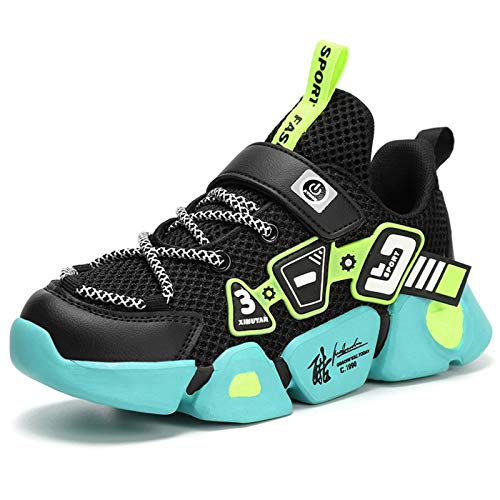 N\C Children's Shoes, Boys' Breathable Sneakers, Light and Soft-Soled Running Shoes