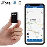 Mini GPS Tracker,Hangang Sattelite GPS Tracker Built-in Magnets Long Life Battery Anti Thief
