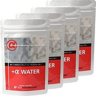 グリセリンローディング アルファウォーター グルタミン1,000㎎配合 ドリンク粉末 8gスティック 10本入 4袋セット