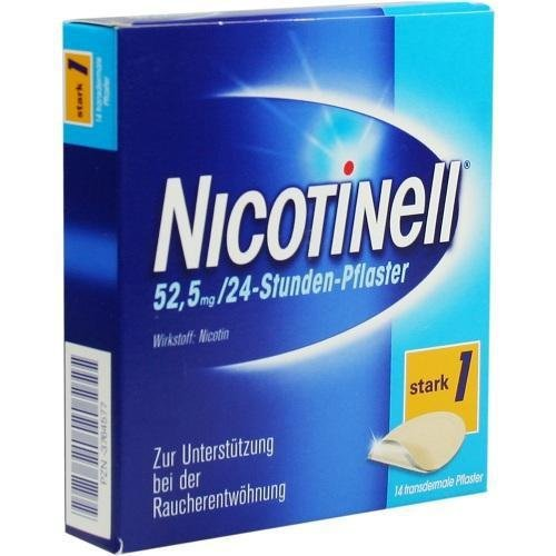 Nicotinell 52,5 mg 24 Stunden Pflaster, 14 St.