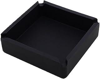 Feuilles de caoutchouc noir 6mm x300mm x 300