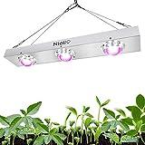 Niello® COB LED Grow Light, 600W Cob Pflanzenlampe Vollspektrum für Zimmerpflanzen LED Wachsen Licht High Par und High Lumen Wachsen Kühlen Stärkere Wärmeableitung Pflanzenlicht für Indoor-Hydroponik