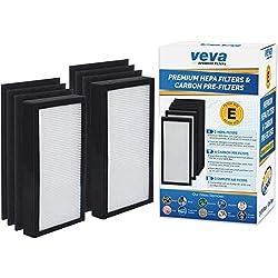 Image of VEVA Premium 2 HEPA Filters...: Bestviewsreviews