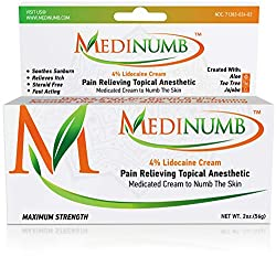 Medinumb Lidocaine Tattoo Numbing Cream