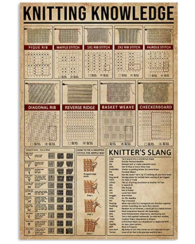 Knitting Knowledge Poster