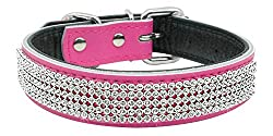 Berry Pet Bling Rhinestones Dog Collar