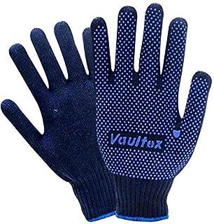Single Side Dotted Gloves CRD - Vaultex (10 Dozen)
