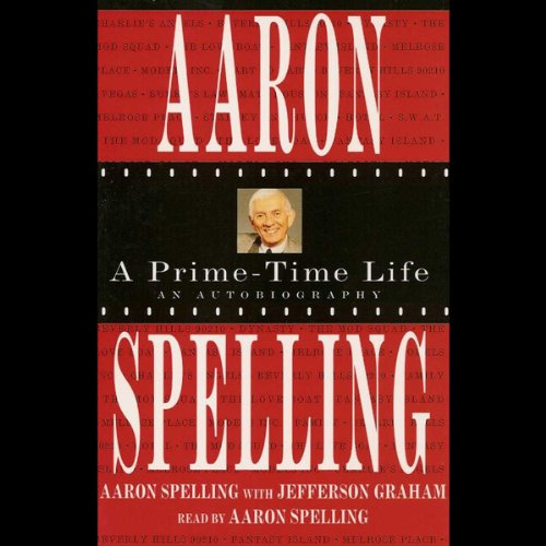 Aaron Spelling audiobook cover art