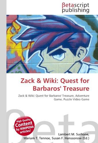 Zack & Wiki: Quest for Barbaros' Treasure: Zack & Wiki: Quest for Barbaros' Treasure, Adventure Game, Puzzle Video Game