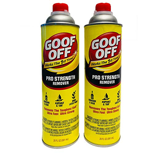 Goof Off FG655AM Pro Pour 20 oz (2 Count) Remover, Yellow