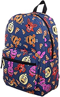 Five Nights at Freddy's Characters School Backpack FNAF Chica Foxy Bonnie