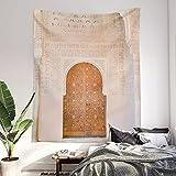 Tapiz para colgar en la pared, puerta de la Alhambra, Granada, España, fotografía de viaje, color brillante y pastel