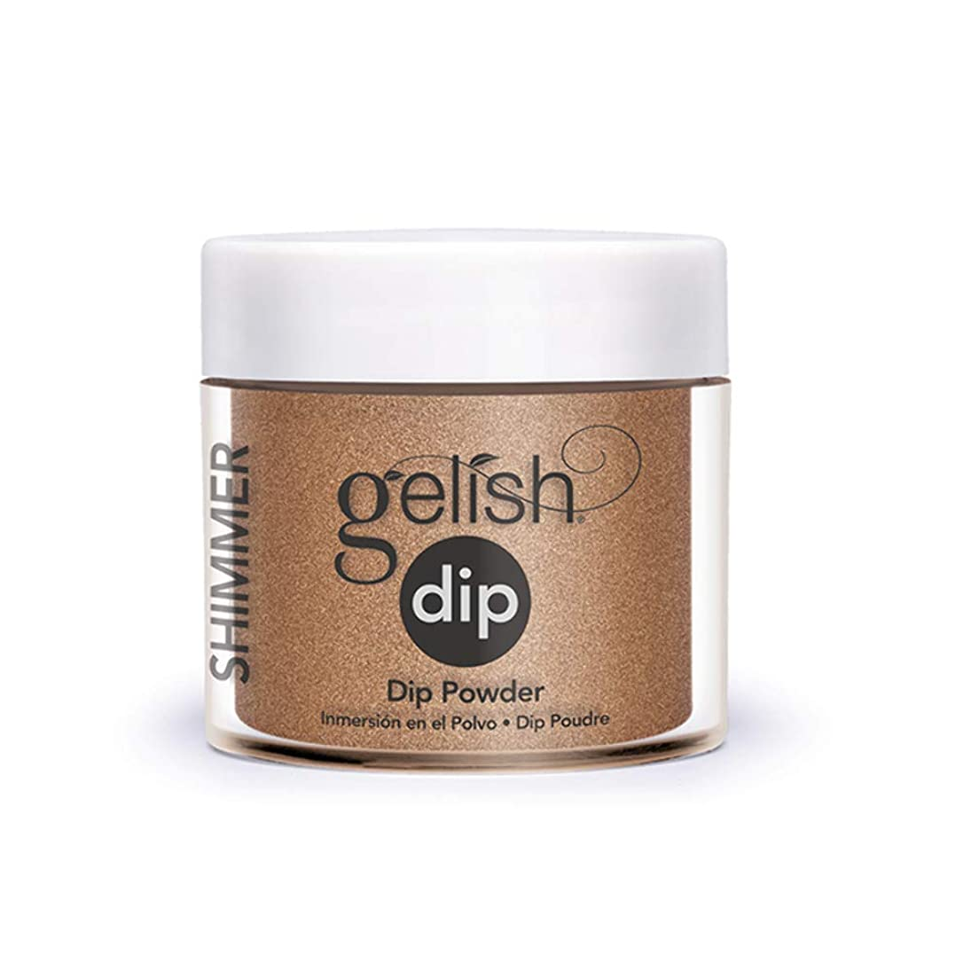ラベル権利を与える年齢Harmony Gelish - Acrylic Dip Powder - Bronzed & Beautiful - 23g / 0.8oz