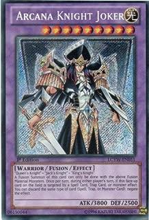 Yu-Gi-Oh! - Arcana Knight Joker (LCYW-EN051) - Legendary Collection 3: Yugi's World - Unlimited Edition - Secret Rare
