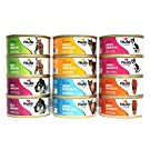 Nulo Freestyle Grain Free Wet Cat Food Variety Pack - 6 Flavors - 5.5 Oz Each (12 Total Cans)