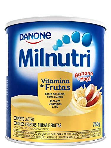 Composto Lácteo Milnutri Vitamina de Frutas Danone Nutricia 760g
