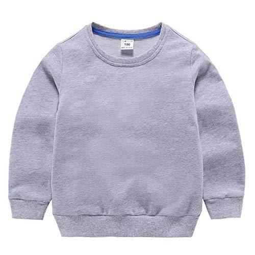 Nuevo 2020Moda Bebés Niños Niñas Sudadera para niñosManga Larga Cuello Puro Algodón Camisa Trajes Bebé