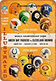 Froy 1965 NFL Championship Packers Against Browns Wand