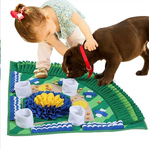 Parluna Hundeschnupfmatte, Hundefuttermatte, unverwechselbares Haustier für Hundekatze